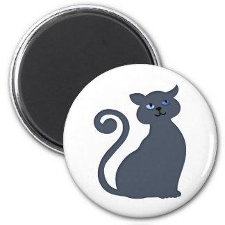 Slinky Feline Magnet