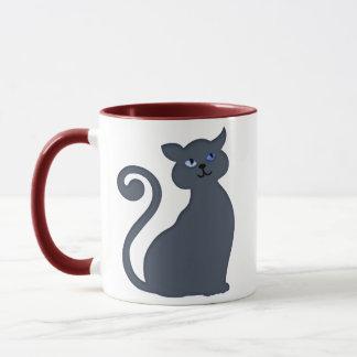 Slinky Feline Mug
