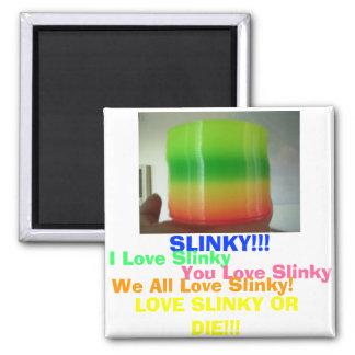 SLINKY!!! magnet