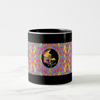Slinky Pirate Two-Tone Coffee Mug