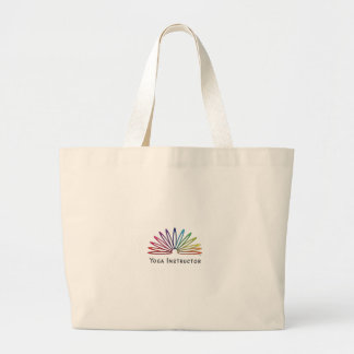 Slinky Themed Yoga Accessories Large Tote Bag
