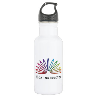 Slinky Themed Yoga Accessories Stainless Steel Water Bottle