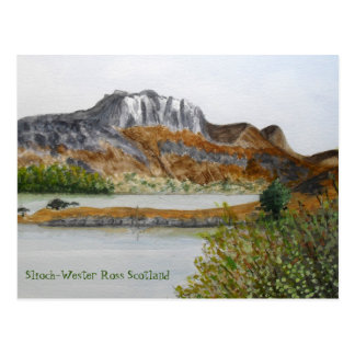 Slioch-Wester Ross Scotland Postcard