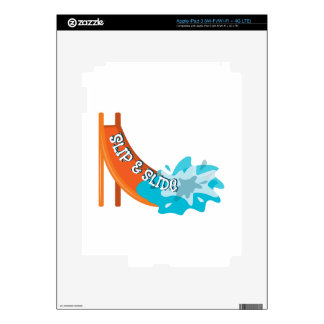 Slip And Slide Decal For iPad 3