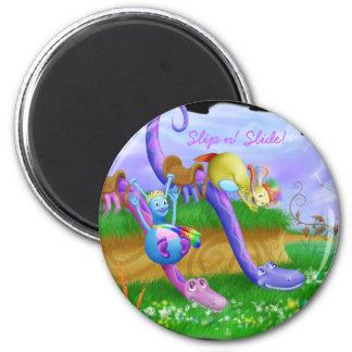 Slip n' Slide! 2 Inch Round Magnet