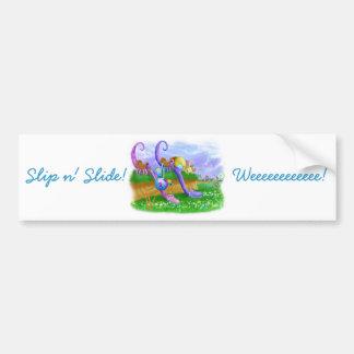 Slip n' Slide! Bumper Sticker