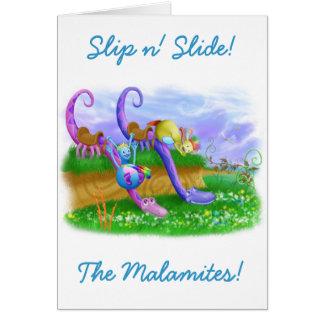 Slip n' Slide! Card