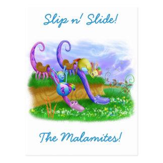 Slip n Slide Postcards