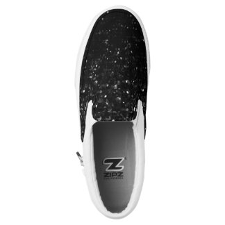 Slip On Shoes Crystal Bling Strass Printed Shoes