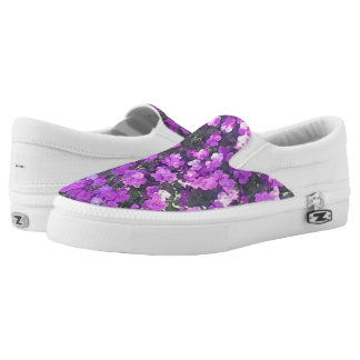 SLIP ON'S - PRETTY PURPLE PEDALS Slip-On SNEAKERS