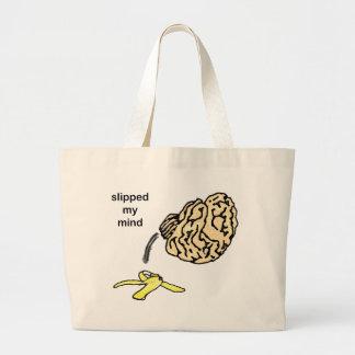 Slipped my Mind Canvas Bag