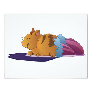 Slipper Kitty Card