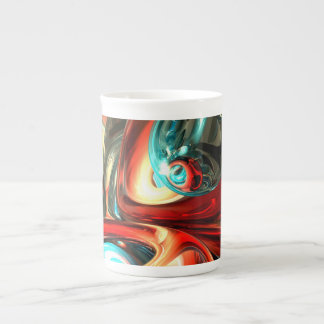 Slippery Abstract Tea Cup