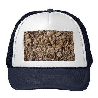 Slippery elm bark trucker hats