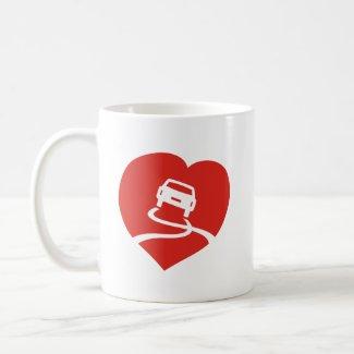 Slippery Love Sign mug mug