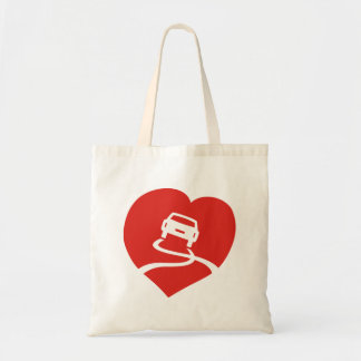 Slippery Love Sign tote Budget Tote Bag