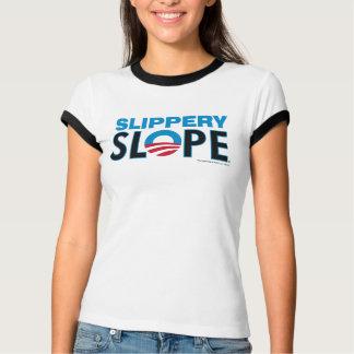 Slippery Slope block letters T-Shirt