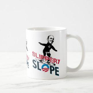 Slippery Slope T shirt, Slippery Slope T shirt Coffee Mug