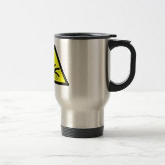 Slippery Surface Warning Travel Mug