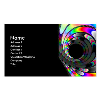 Slipping Away Double-Sided Standard Business Cards (Pack Of 100)