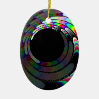 Slipping Away Ceramic Ornament