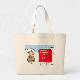 slipping insurance eskimo bag