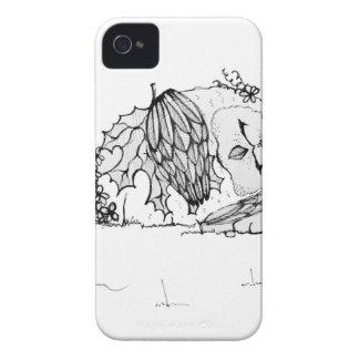 Slipping owl iPhone 4 case