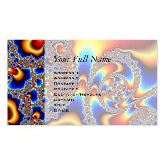 Slipping Through - Fractal Art Business Card