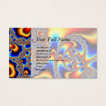 Slipping Through - Fractal Art Business Card