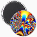 Slipping Through - Fractal Art Magnet