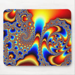 Slipping Through - Fractal Art Mouse Pad