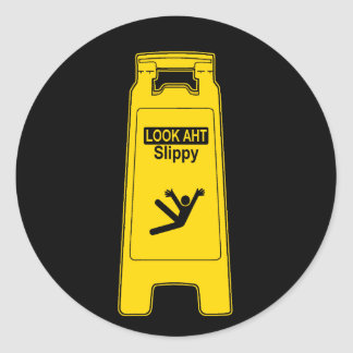 Slippy Classic Round Sticker
