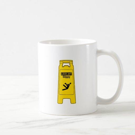 Slippy Classic White Coffee Mug