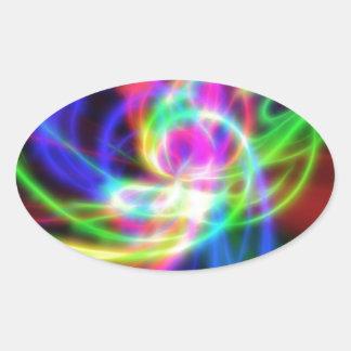 SlipShod Oval Sticker