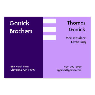 Slipt Purple Business Card