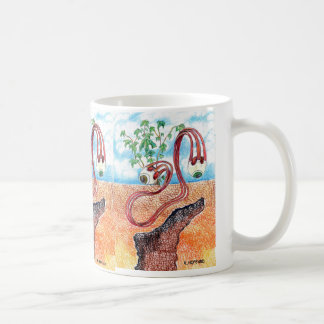 """""""Slithering Eyes"""" Classic White Coffee Mug"""