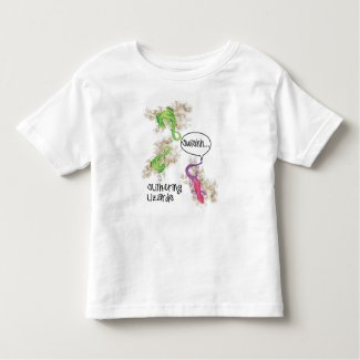 Slithering Lizards Toddler Tee