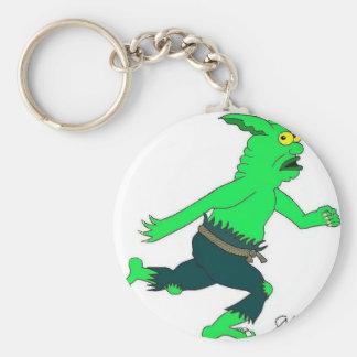 Slithers el slinn el goblin llavero redondo tipo pin