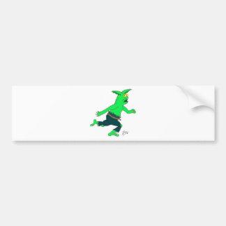 Slithers slinn the goblin bumper sticker