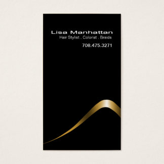 Sliver Sophisticated Business Card template