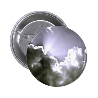 Sliver Sunburst Button