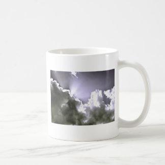 Sliver Sunburst Coffee Mug