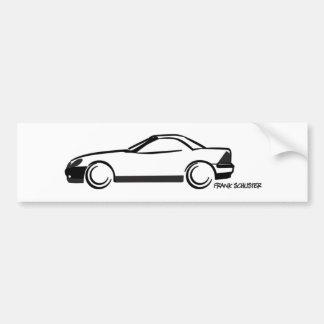 SLK Top Up Car Bumper Sticker