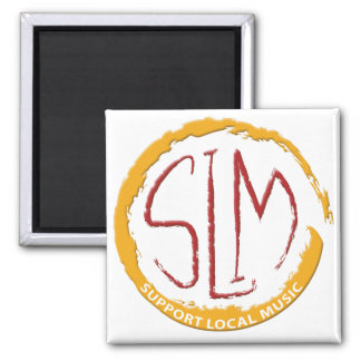 SLM - Support Local Music 2 Magnet