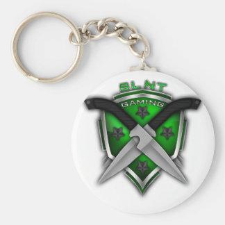 SLNT Gaming Gear Basic Round Button Keychain