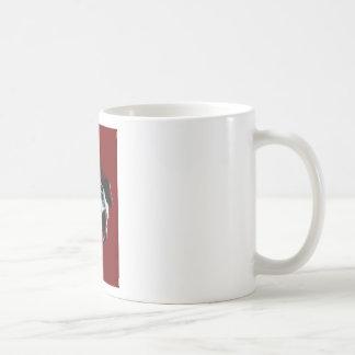 Slo - hand classic white coffee mug