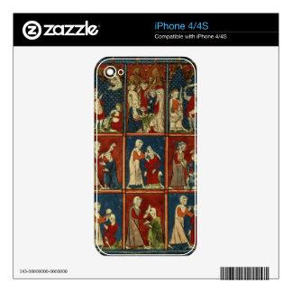 Sloane 1977 fol.2V Medical and biblical scenes, fr iPhone 4S Decal