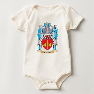 Sloane Coat of Arms - Family Crest Baby Bodysuit