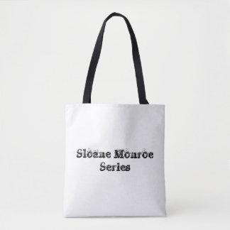 Sloane Monroe Series Tote Bag - White