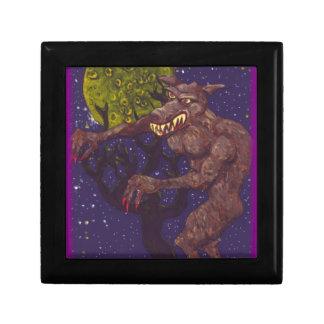 Slobbering Werewolf Jewelry Box